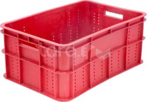 Ящик п/э колбасный 600х400х258 вес 3,2 кг