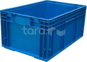 Ящик RL-KLT 6280 голубой 594х396х280