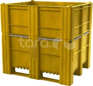 BoxPallet 1200х1000х1140 мм сплошной