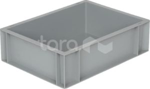 Ящик п/п 400х300х120 сплошной, без ручек, гладкое дно, B-4311
