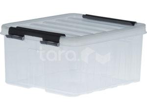 Ящик п/п 210х170х95 мм с крышкой и клипсами