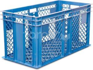 Ящик 800х400х410 перфорированный для перевозки живой птицы