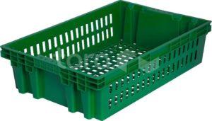 Ящик п/э хлебный 600х400х152,5 вес 1,2 кг.
