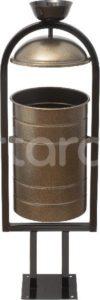 Урна металлическая 1010х330х280 мм