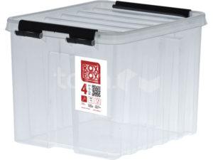 Ящик п/п 210х170х180 мм с крышкой и клипсами