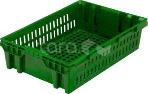 Ящик п/э хлебный 600х400х152,5 вес 1,4 кг.