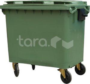Мусорный контейнер на колёсах (660 л)
