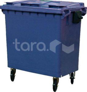 Мусорный контейнер на колёсах (770 л)
