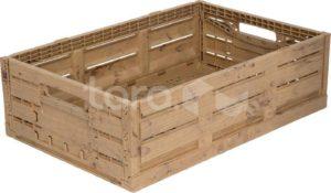 Ящик пластиковый 600Х400Х160 WOOD LOOK