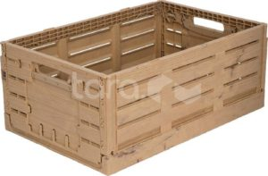 Ящик пластиковый 600Х400Х230 WOOD LOOK