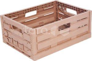 Ящик пластиковый 400Х300Х160 WOOD LOOK